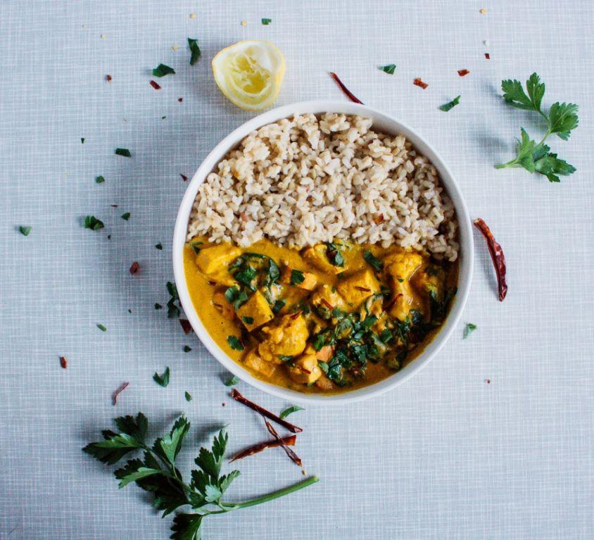 veganski curry zlati kari