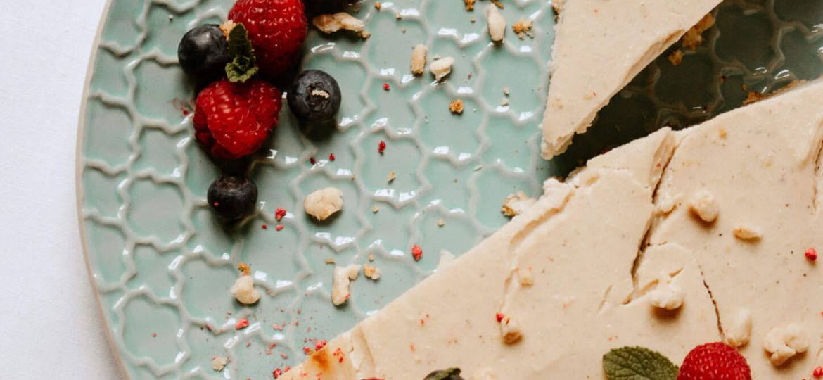 veganska sirova torta [new york cheesecake]
